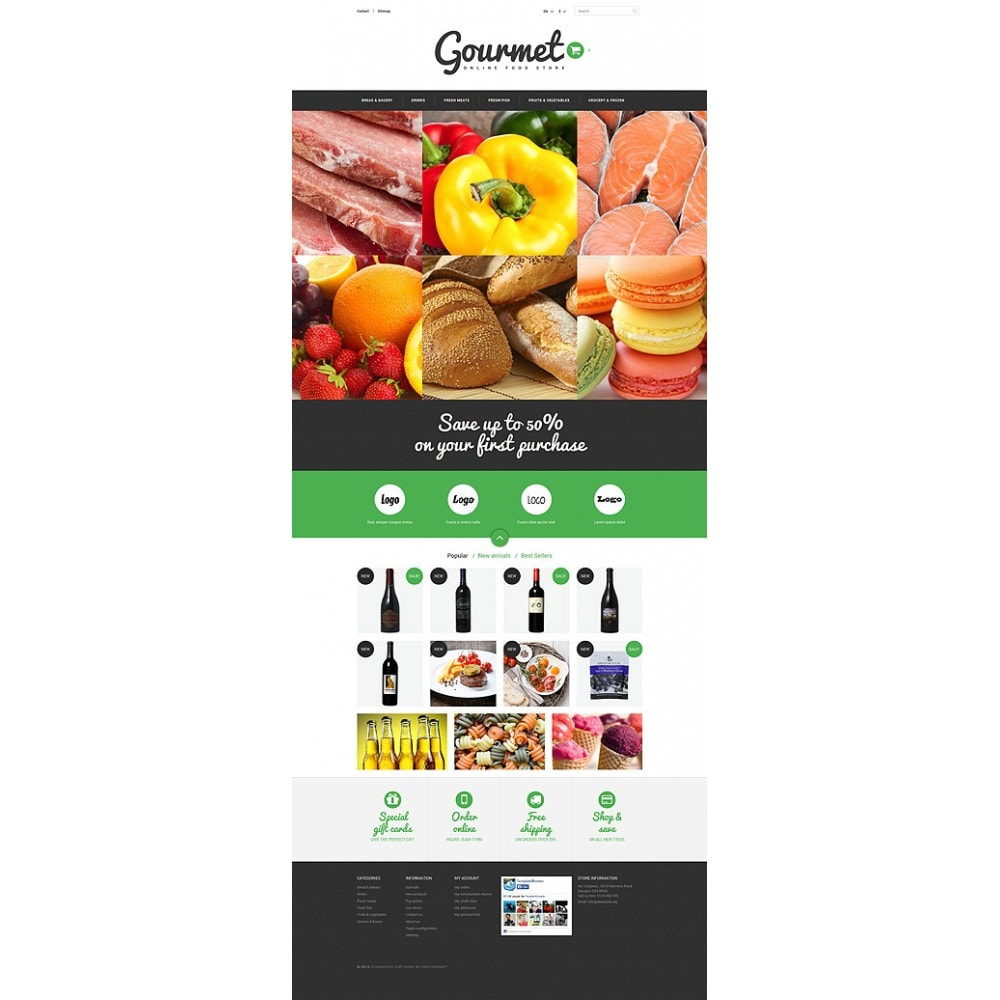 theme - Alimentos & Restaurantes - Food Shop - 10