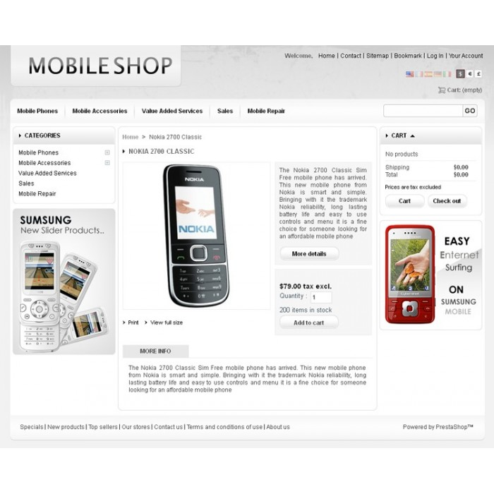 theme - High Tech - Mobile Prestashop Theme - PRS030053 - 4