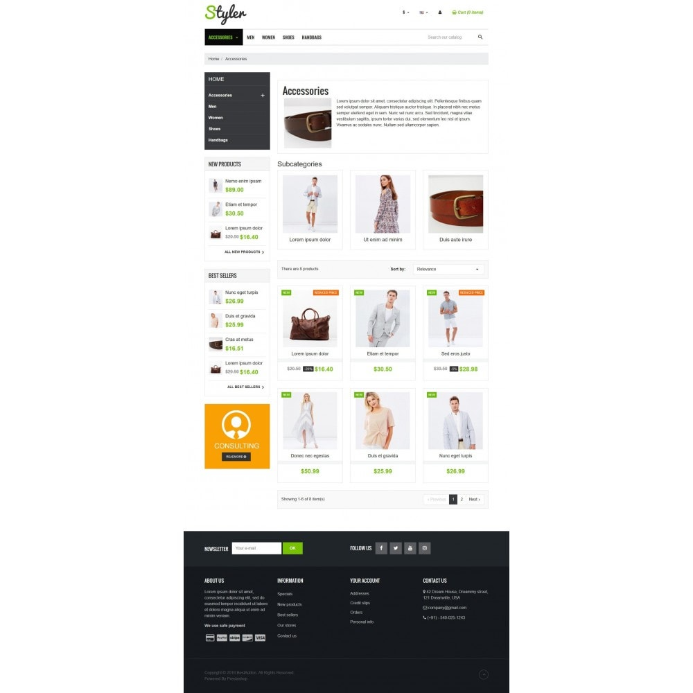 theme - Mode & Chaussures - VP_Styler Store - 3