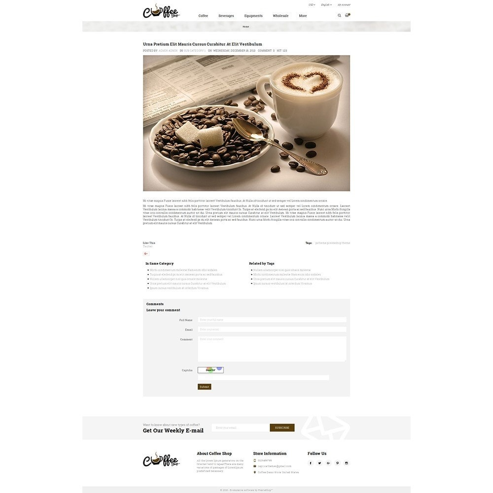 theme - Drink & Wine - Coffee Shop - 6