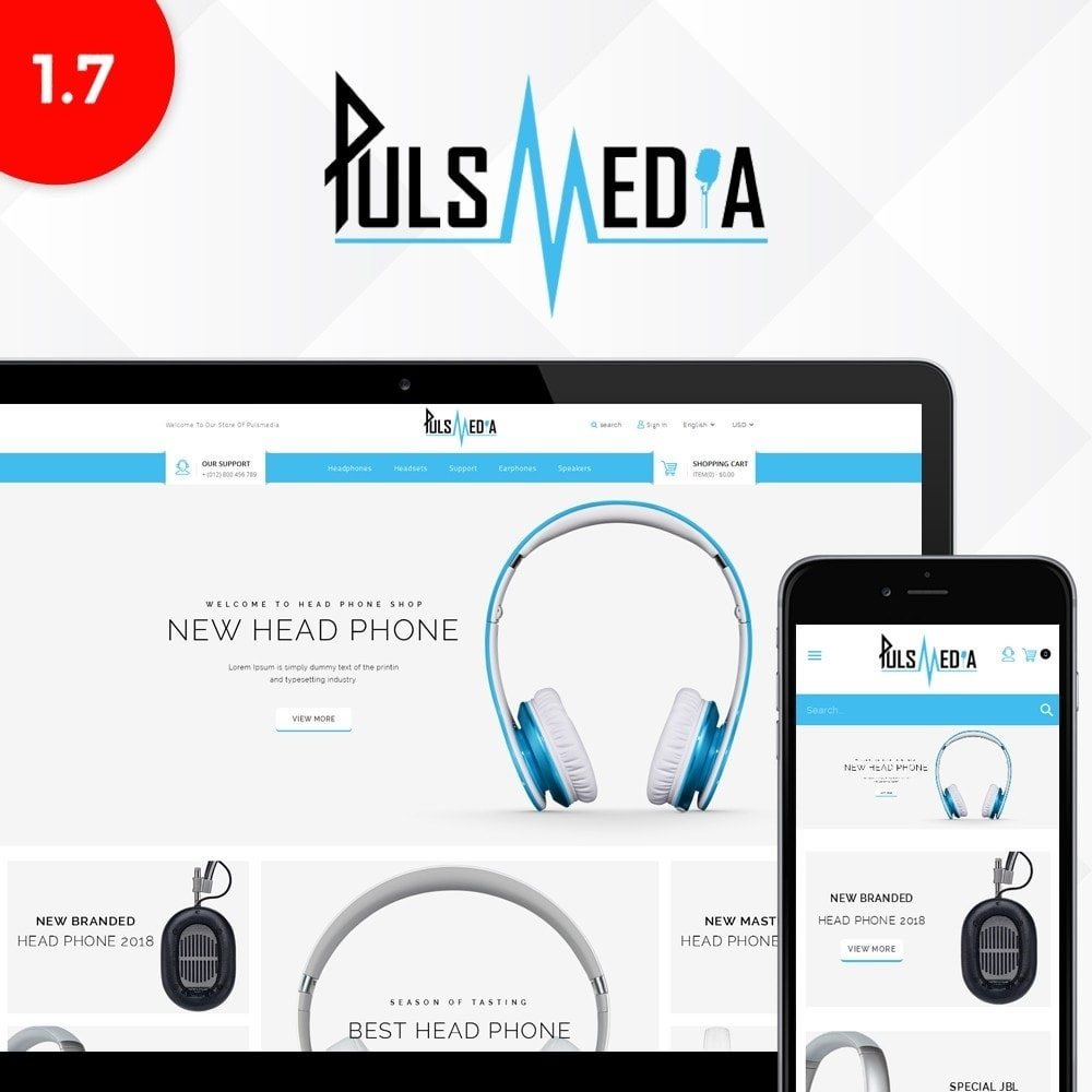 theme - Elettronica & High Tech - Puls Media Store - 1