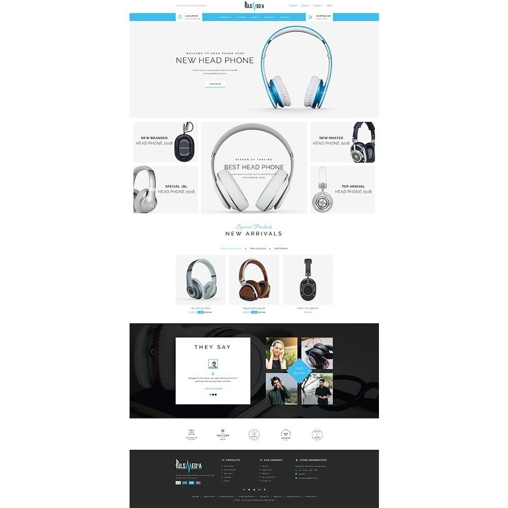 theme - Elettronica & High Tech - Puls Media Store - 2