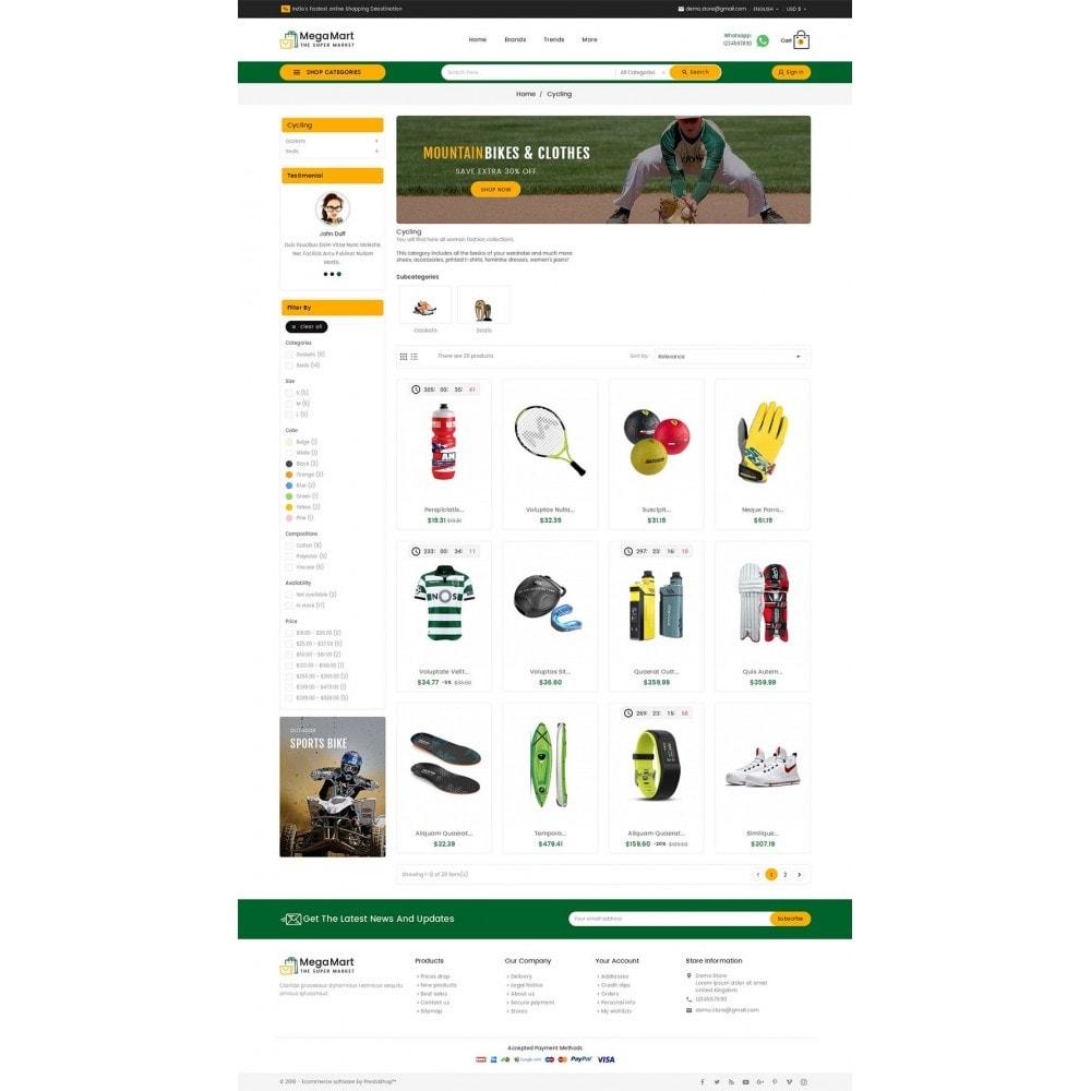 theme - Sport, Aktivitäten & Reise - Mega Mart Sports Club - 4