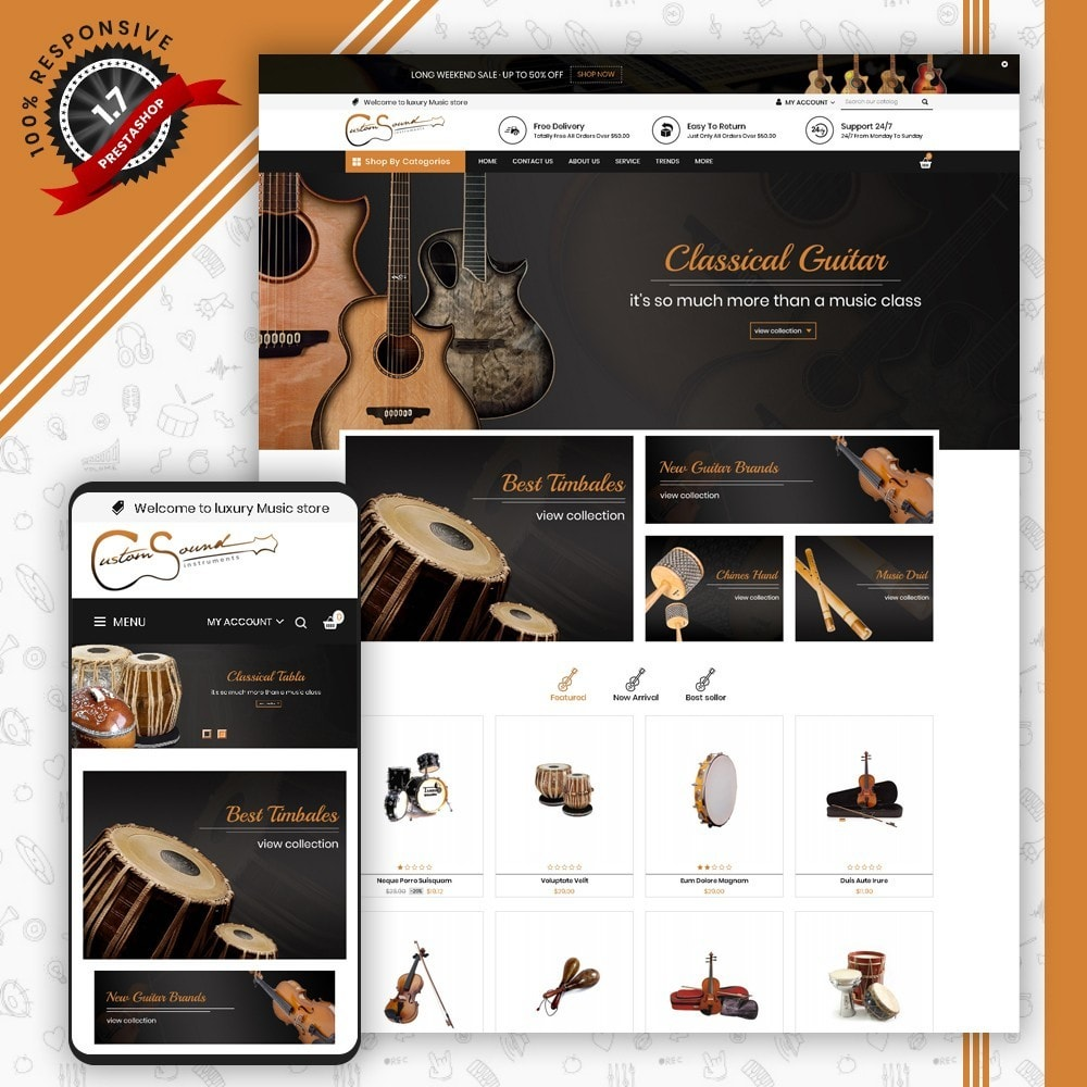 theme - Kunst & Kultur - Instrument Shop - 1