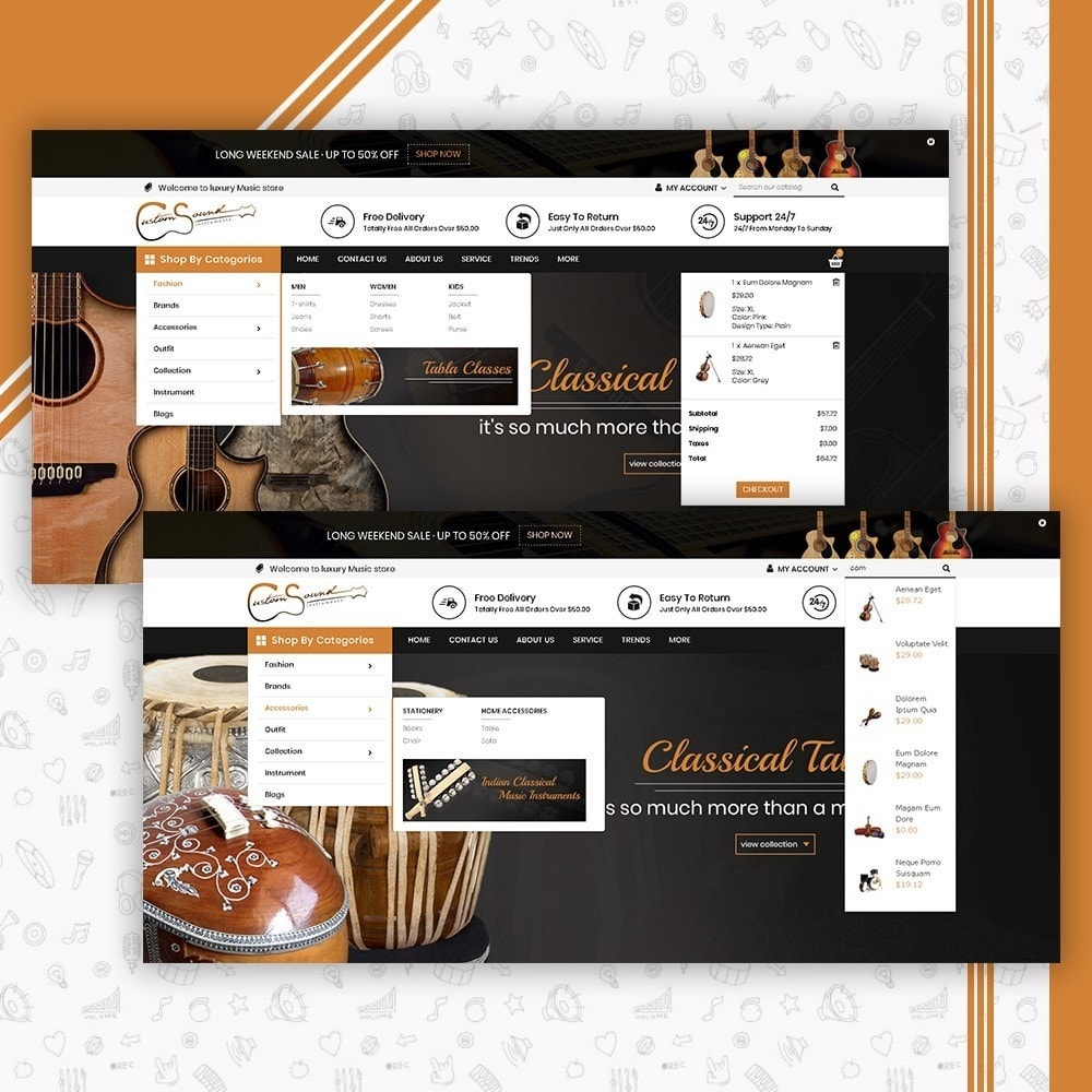 theme - Arte y Cultura - Instrument Shop - 6
