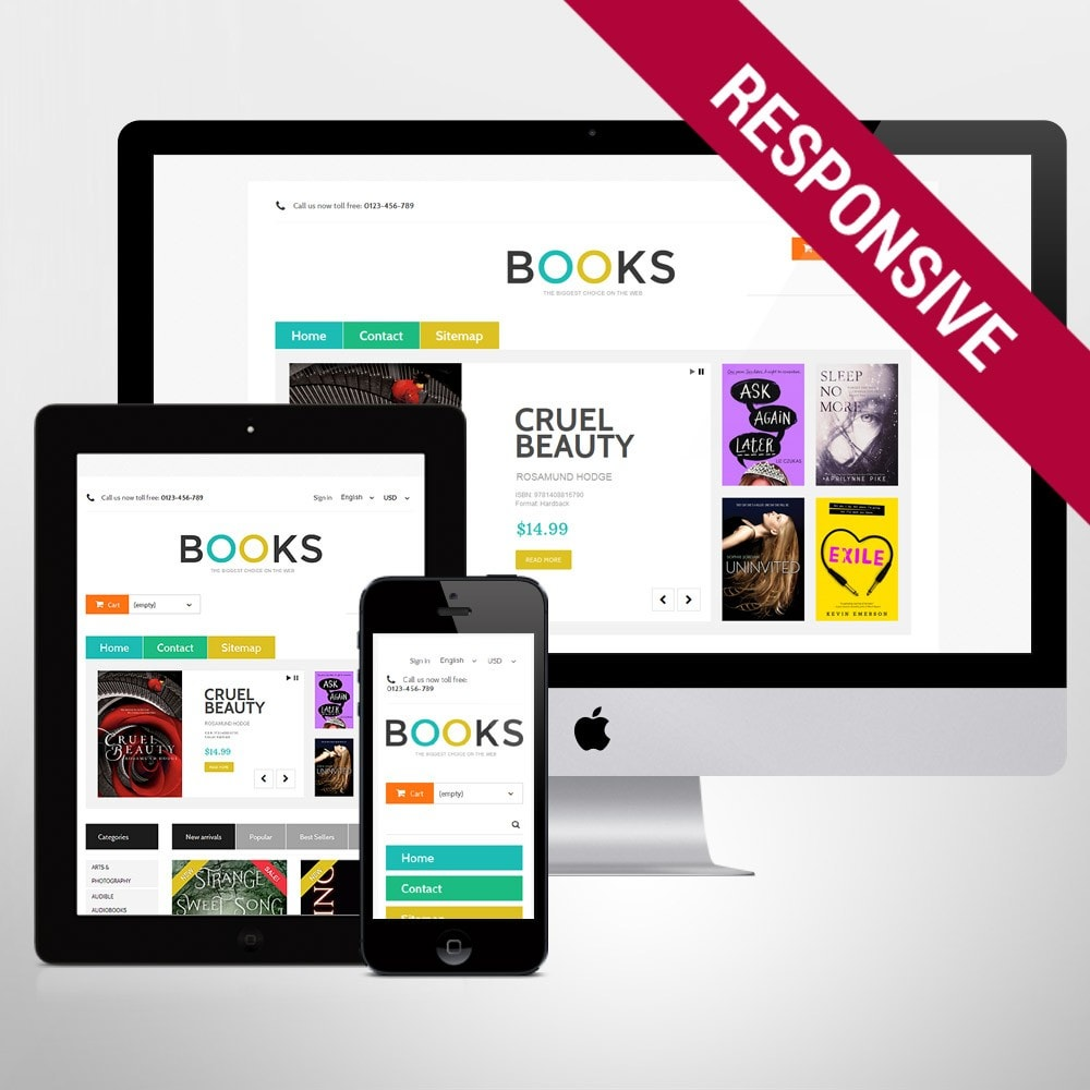 theme - Art & Culture - Online Bookstall - 1