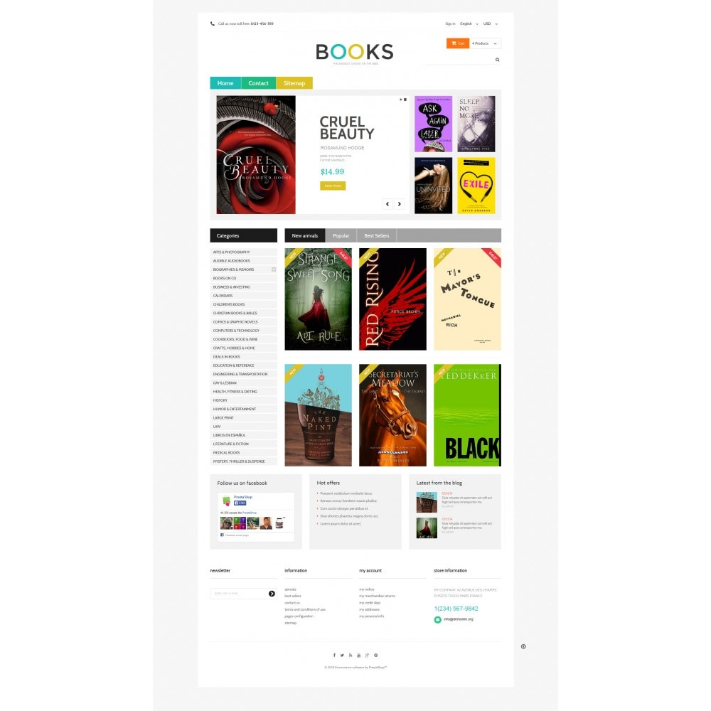 theme - Art & Culture - Online Bookstall - 4