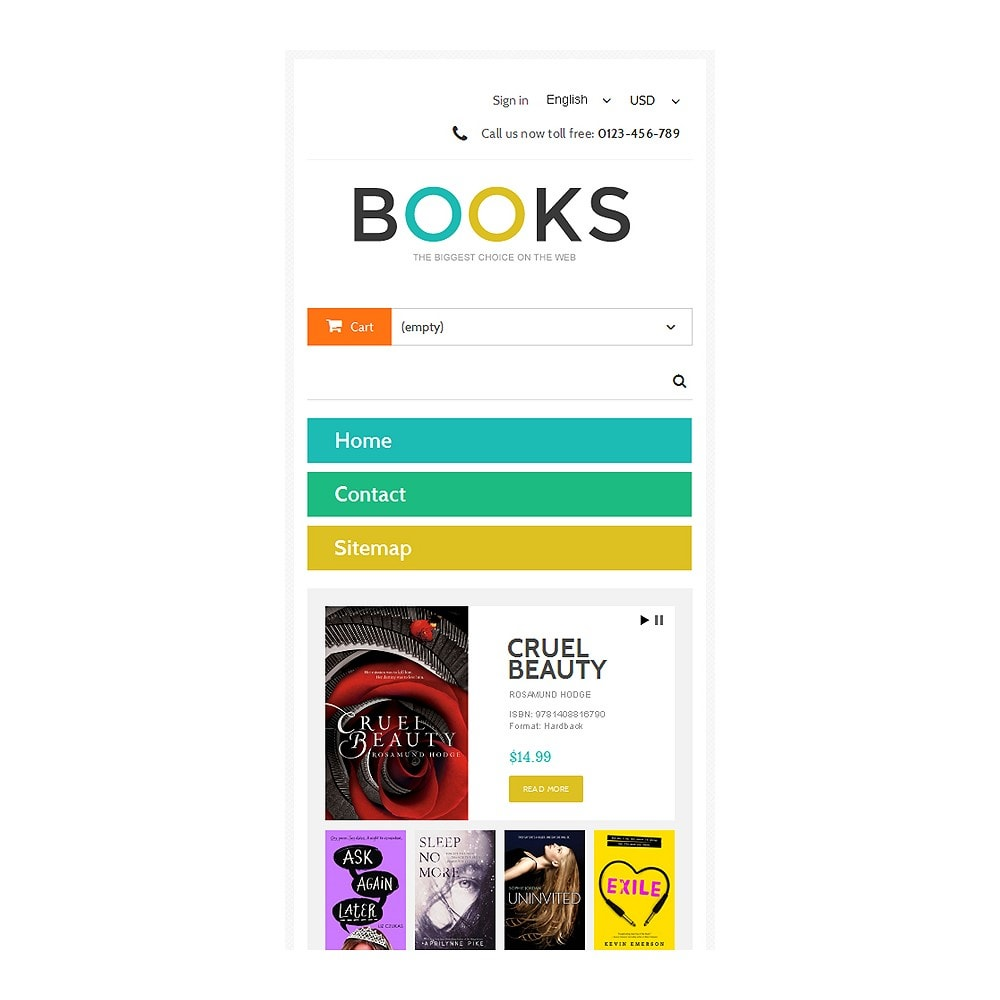 theme - Art & Culture - Online Bookstall - 8
