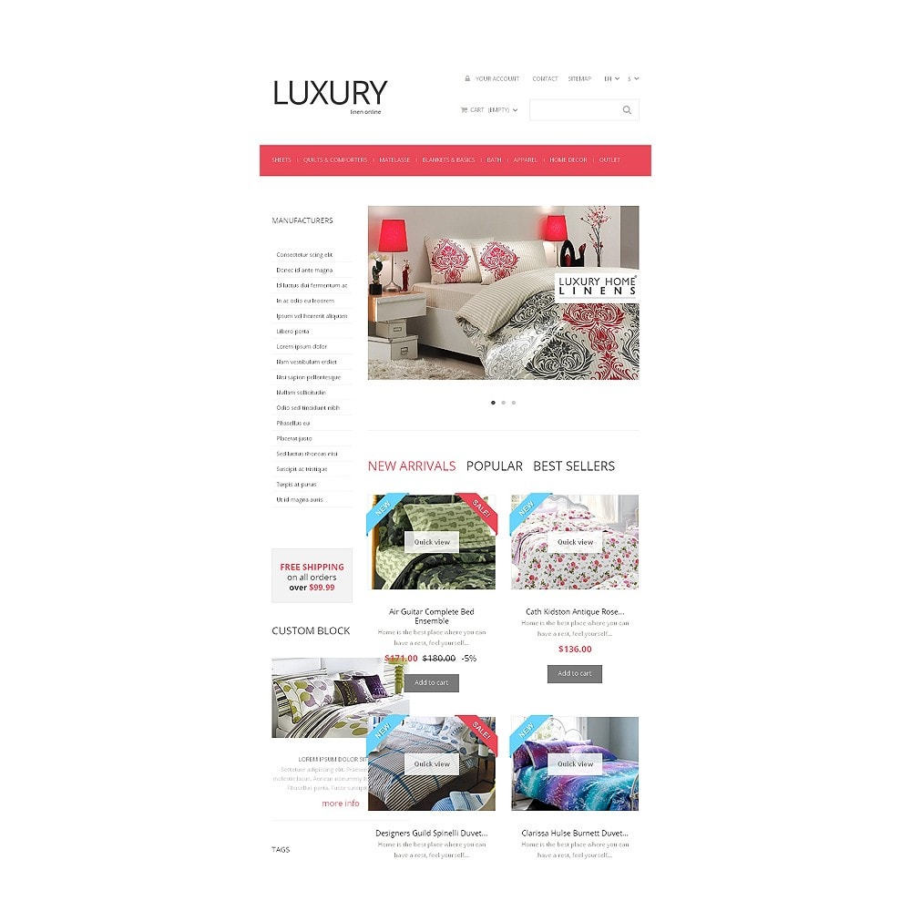 theme - Art & Culture - Linen Store - 7