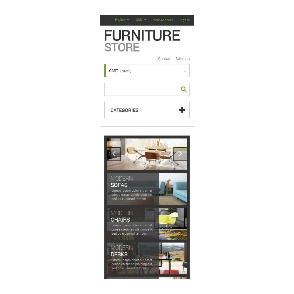 theme - Arte y Cultura - Interior  Furniture Store - 9
