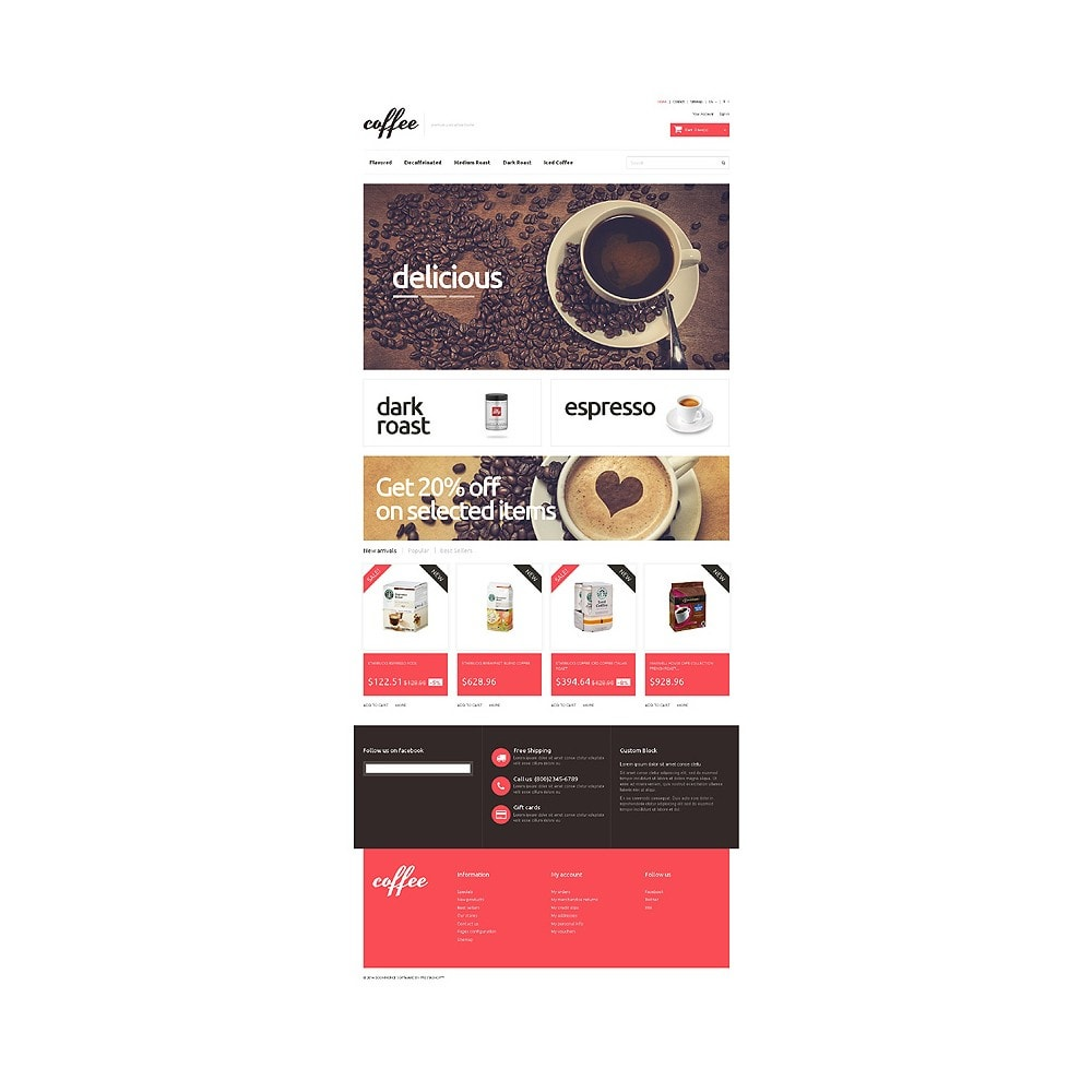 theme - Alimentation & Restauration - Coffee Maniacs - 10