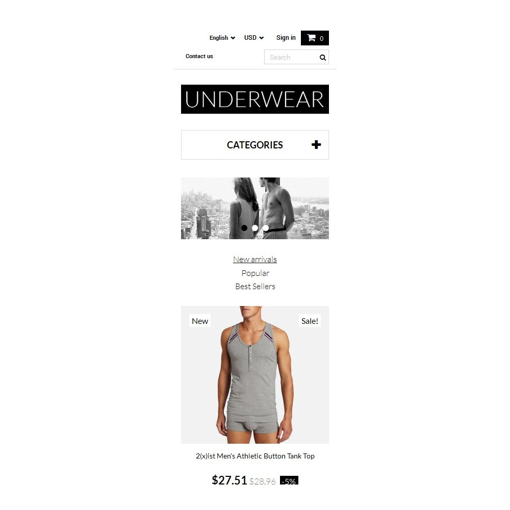 theme - Moda & Calçados - Underwear for Men - 9