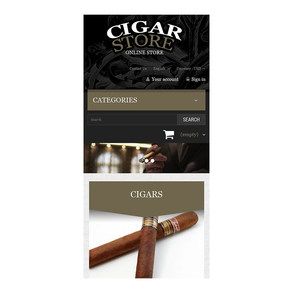 theme - Dom & Ogród - Cigar Smoking Diversion - 8