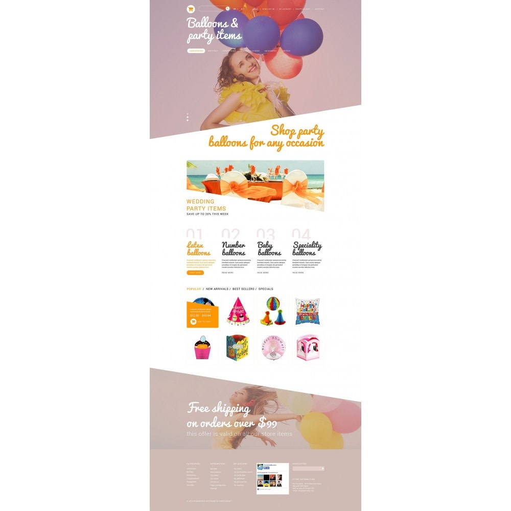 theme - Kids & Toys - Party Stuff - 2