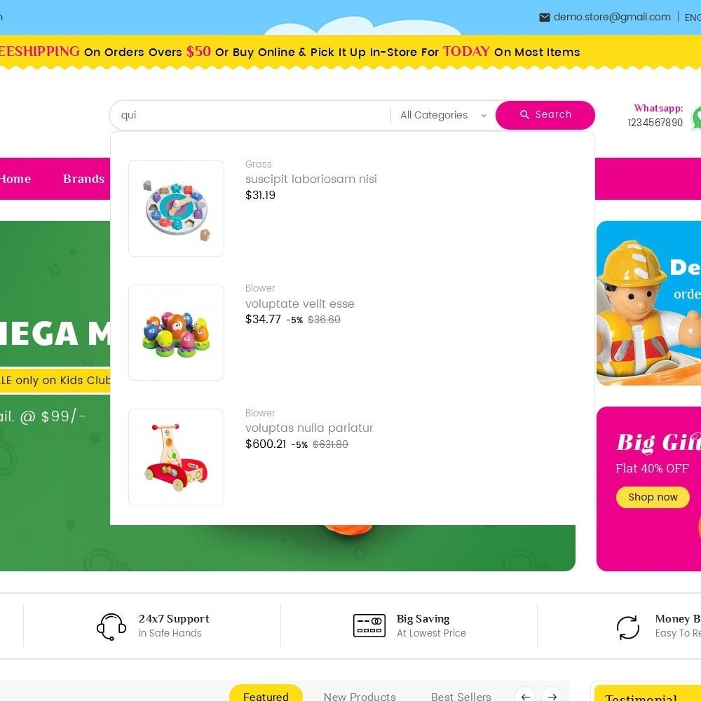 theme - Enfants & Jouets - Mega Mart Kids Toys - 11