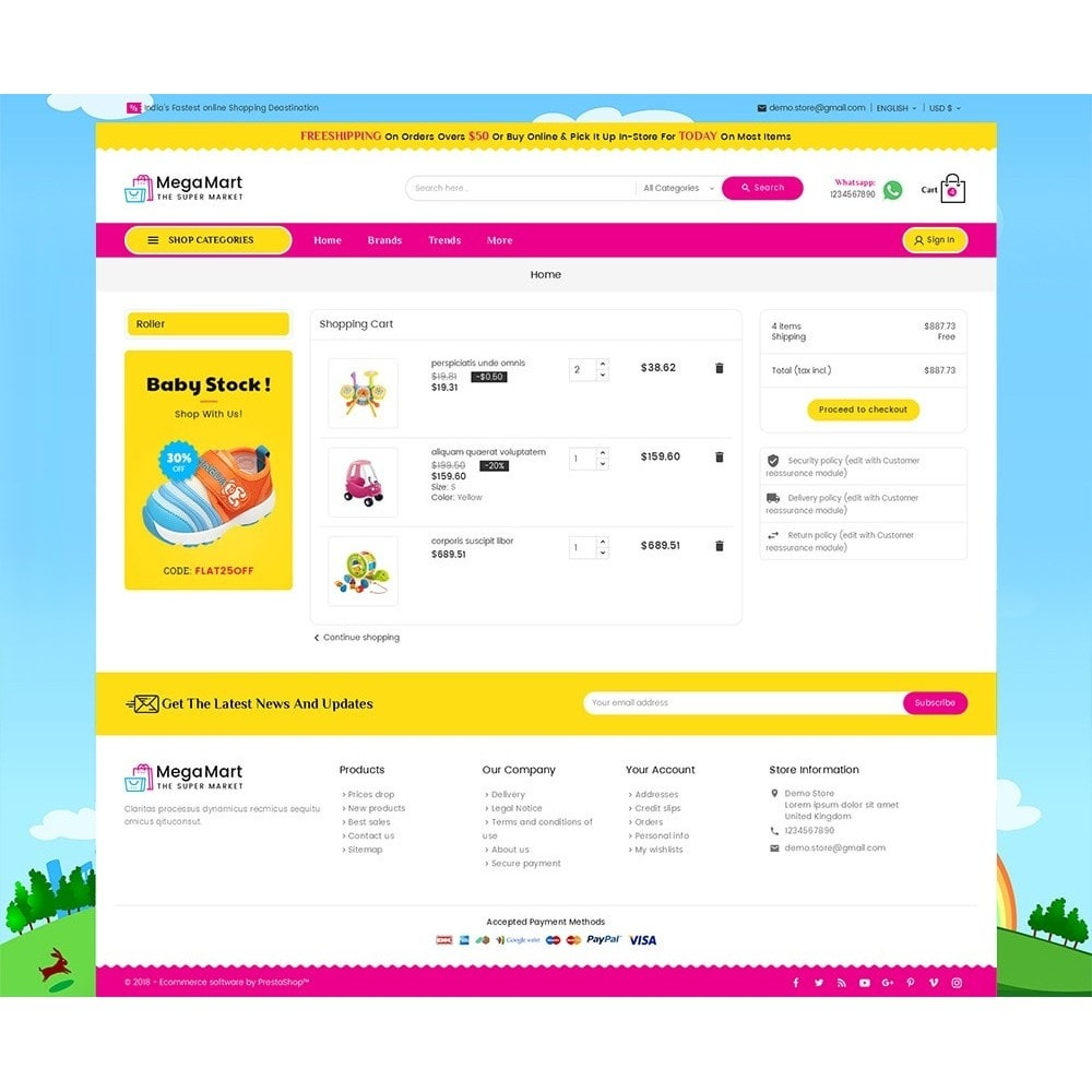 theme - Kinder & Spielzeug - Mega Mart Kids Toys - 7