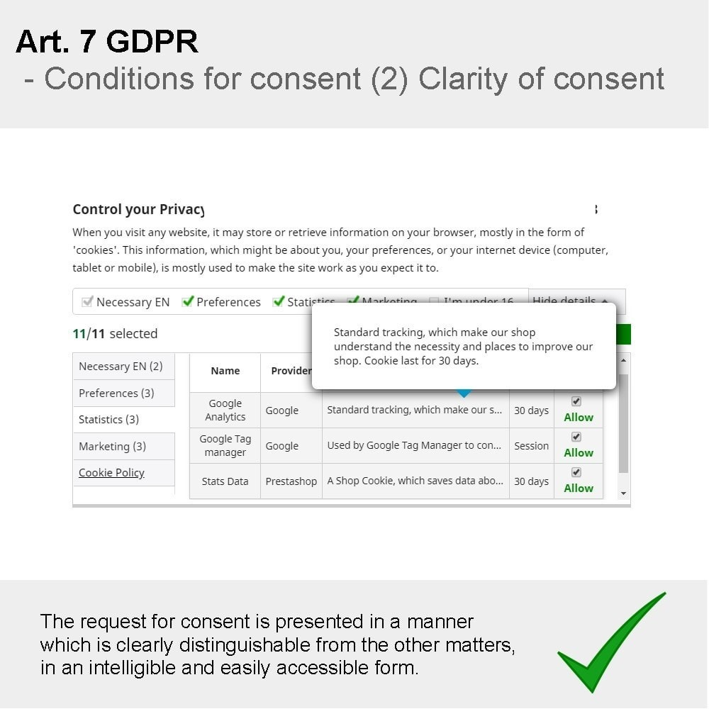 module - Администрация - GDPR Compliance Pro - 2020 Enhanced Edition - 11