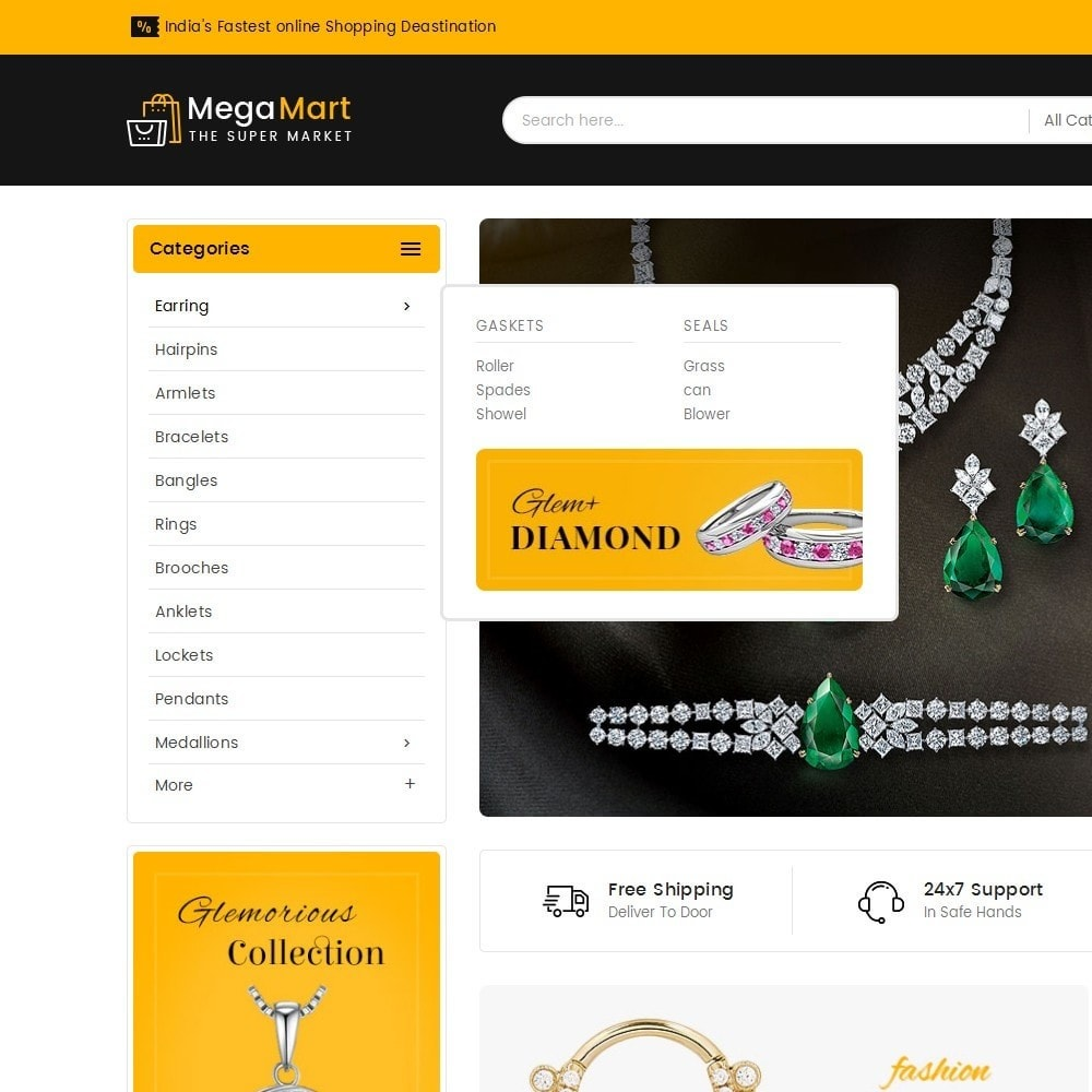 theme - Bijoux & Accessoires - Mega Mart Jewelry Imitation - 10