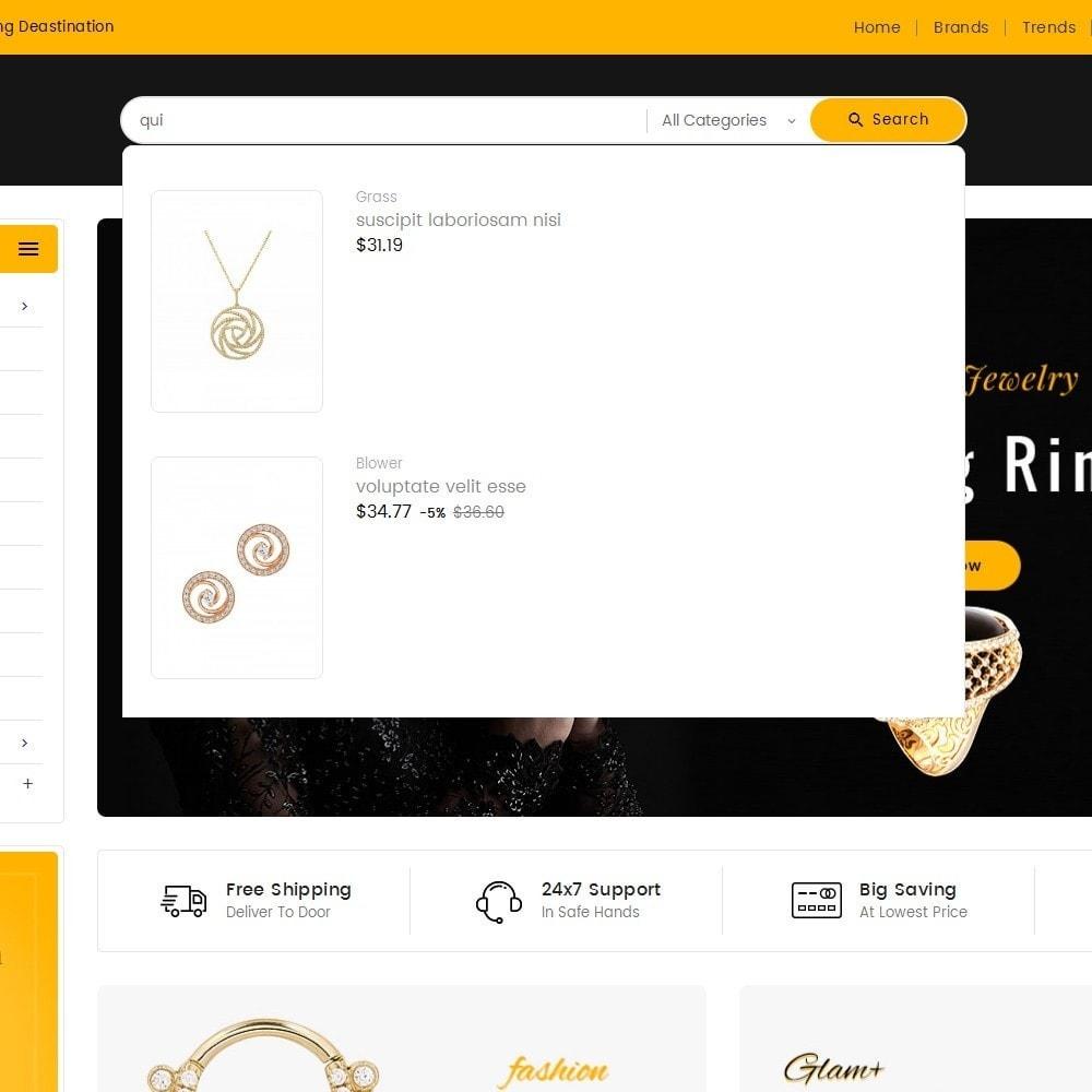 theme - Bijoux & Accessoires - Mega Mart Jewelry Imitation - 11