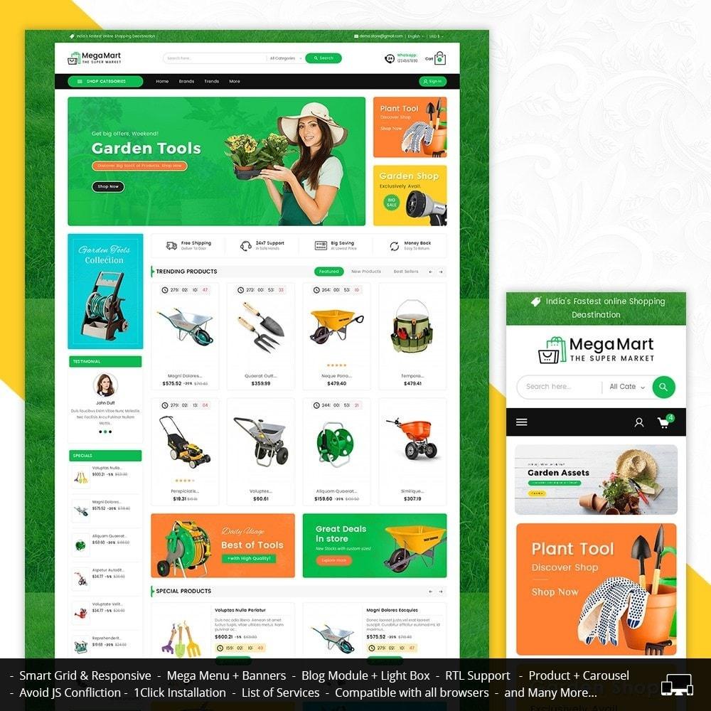 theme - Hogar y Jardín - Mega Mart Gardening Tools - 2
