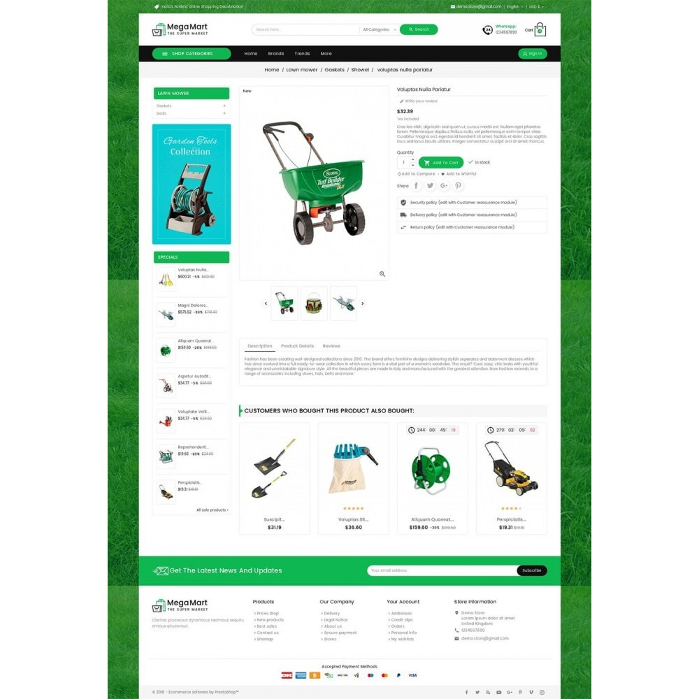 theme - Heim & Garten - Mega Mart Gardening Tools - 6