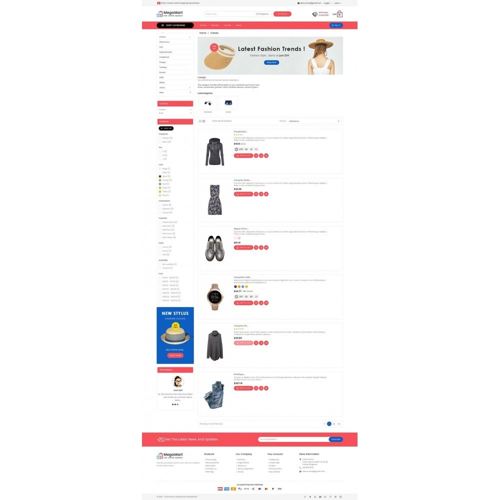 theme - Mode & Schuhe - Mega Mart Fashion Apparel - 5