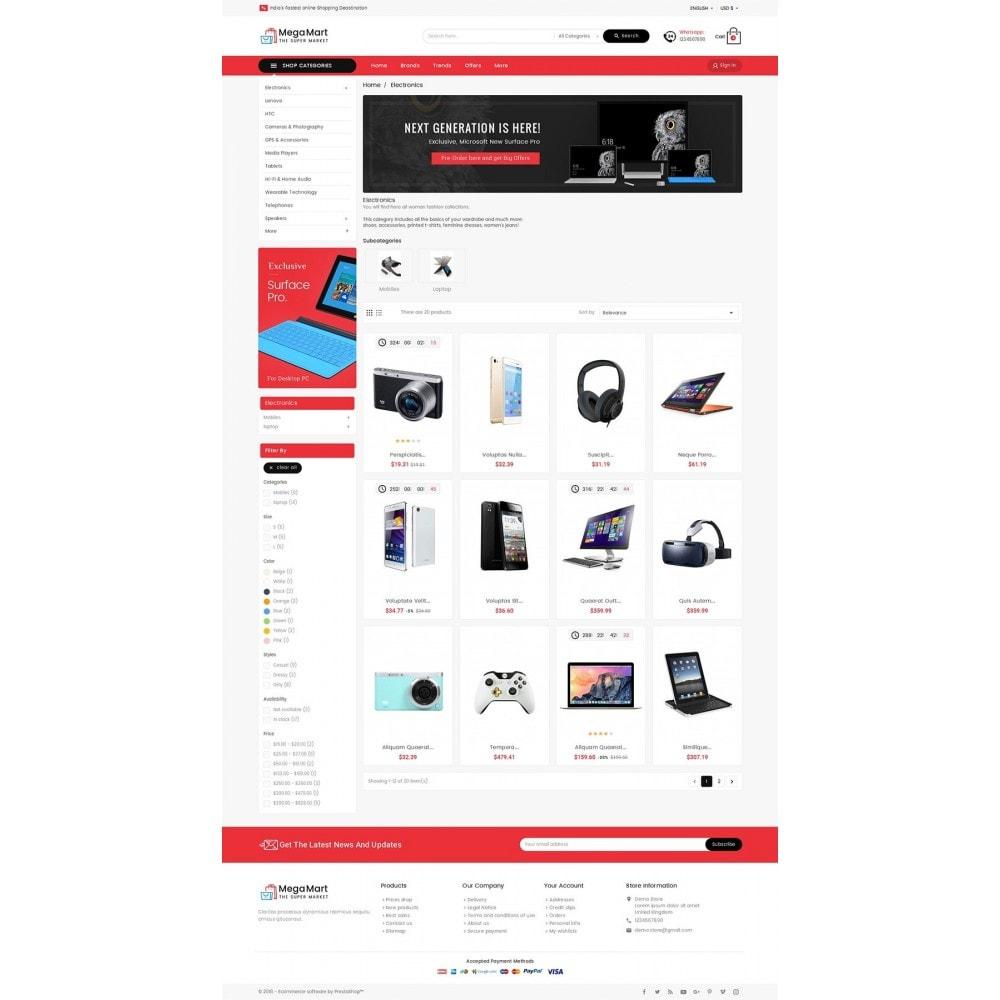 theme - Elettronica & High Tech - Mega Mart Electronics - 4