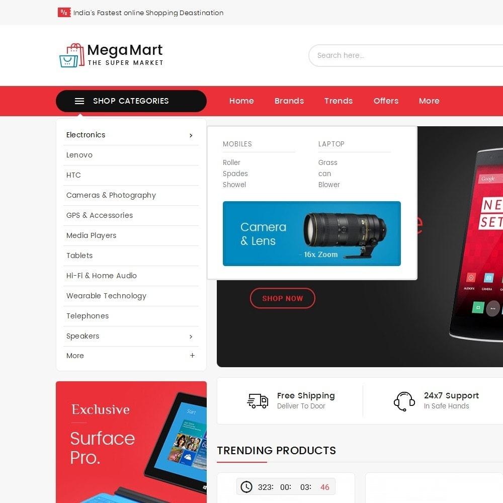theme - Elettronica & High Tech - Mega Mart Electronics - 10