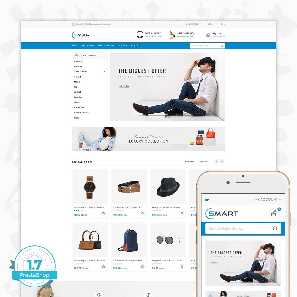 theme - Fashion & Shoes - Smart  - The Smart Store - 1
