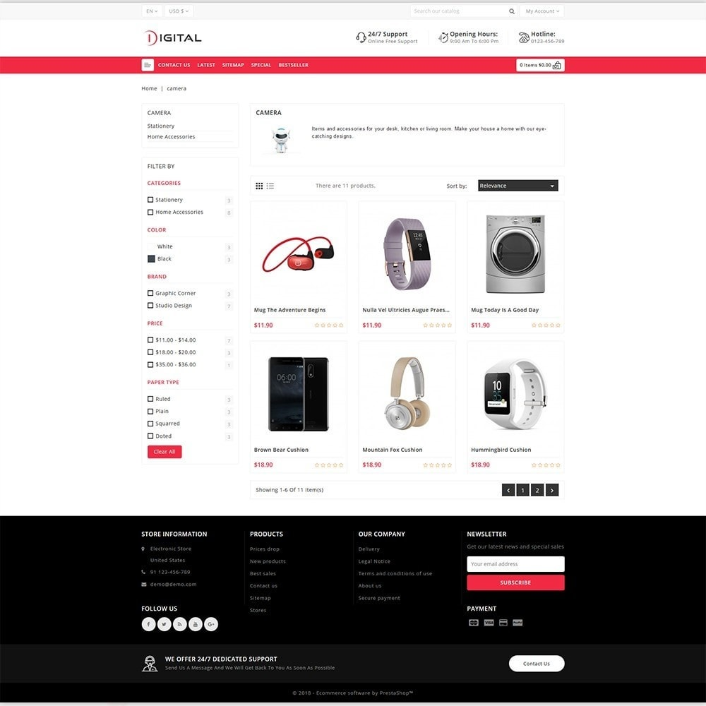 theme - Electronique & High Tech - Digital - The Best Electronics Store - 3