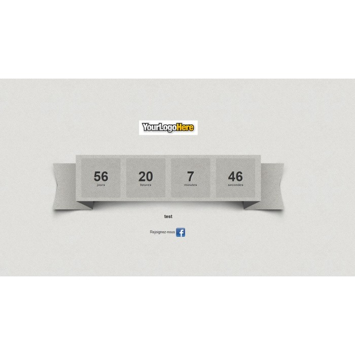 module - Personalizzazione pagine - Maintenance with countdown - Coming soon - 2