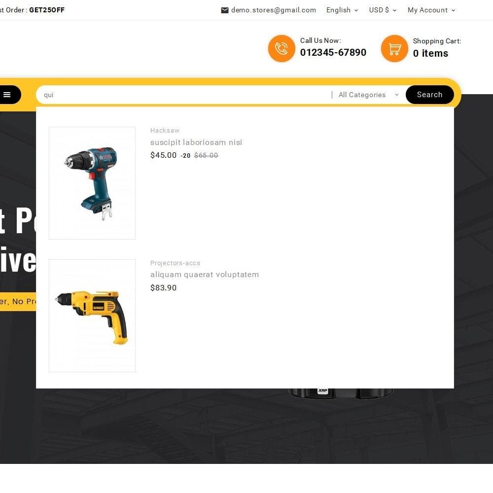 theme - Electrónica e High Tech - Look me Tools Equipment - 11