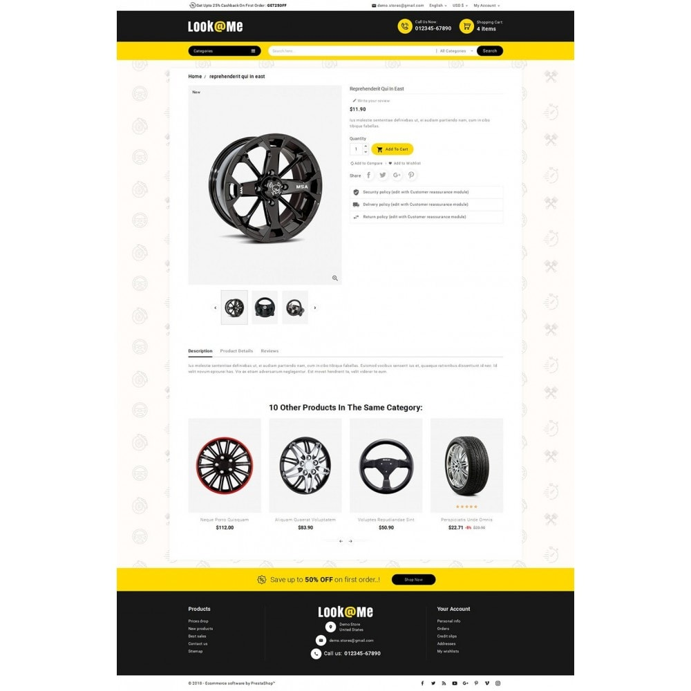 theme - Coches y Motos - Look me Auto Parts - 6