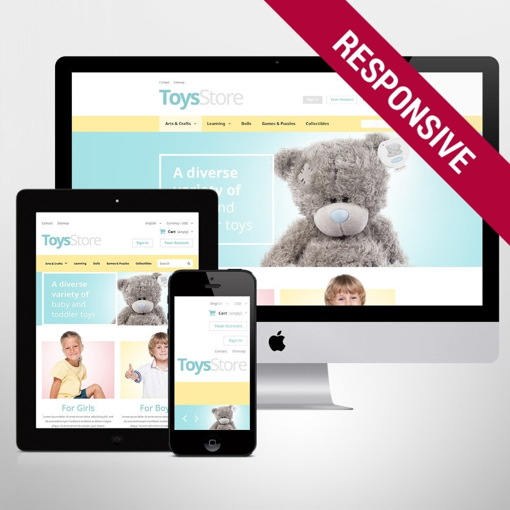 theme - Niños y Juguetes - Toys Shop - 1