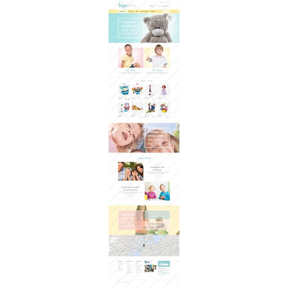 theme - Kinder & Spielzeug - Toys Shop - 3