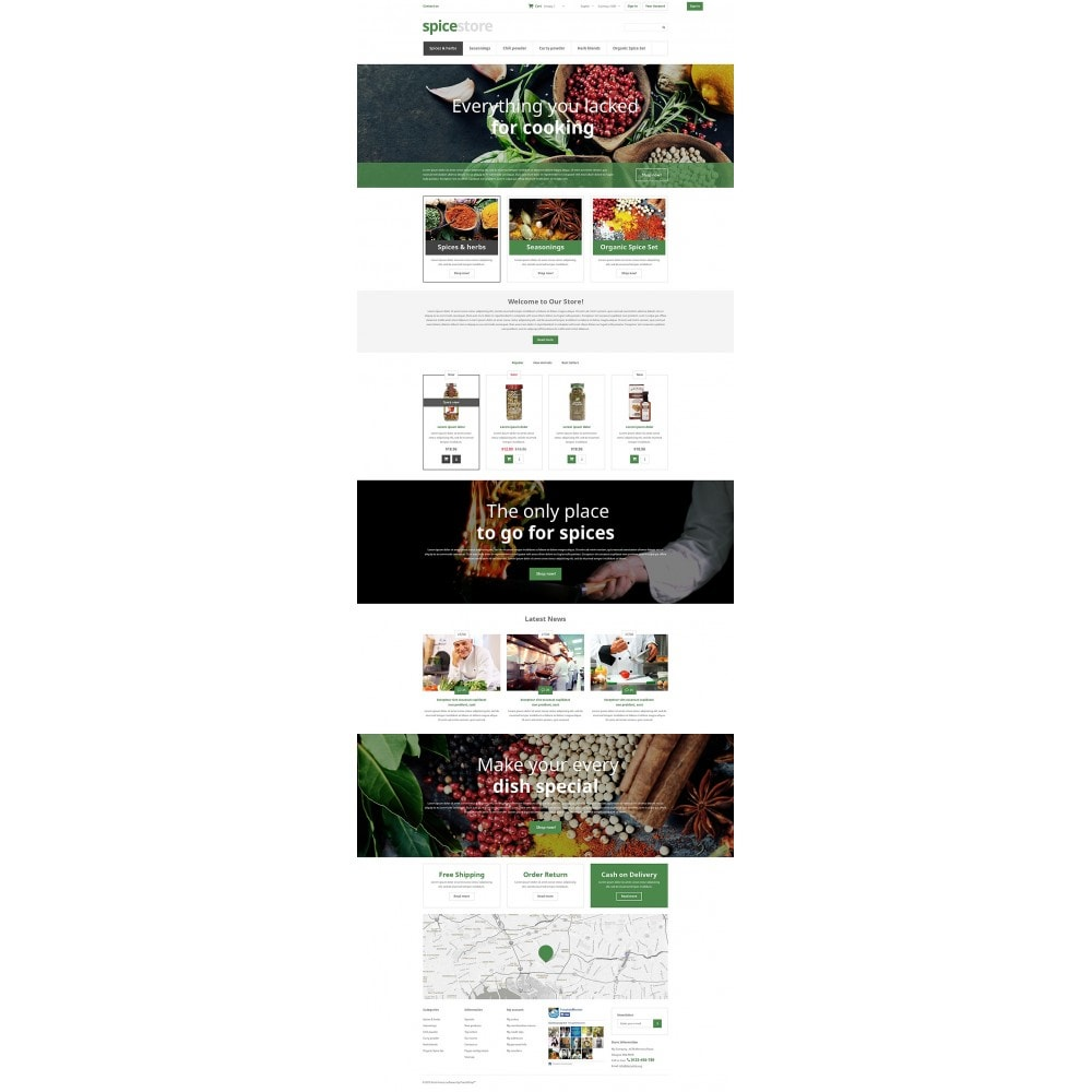 theme - Food & Restaurant - Grocery Shop - 2