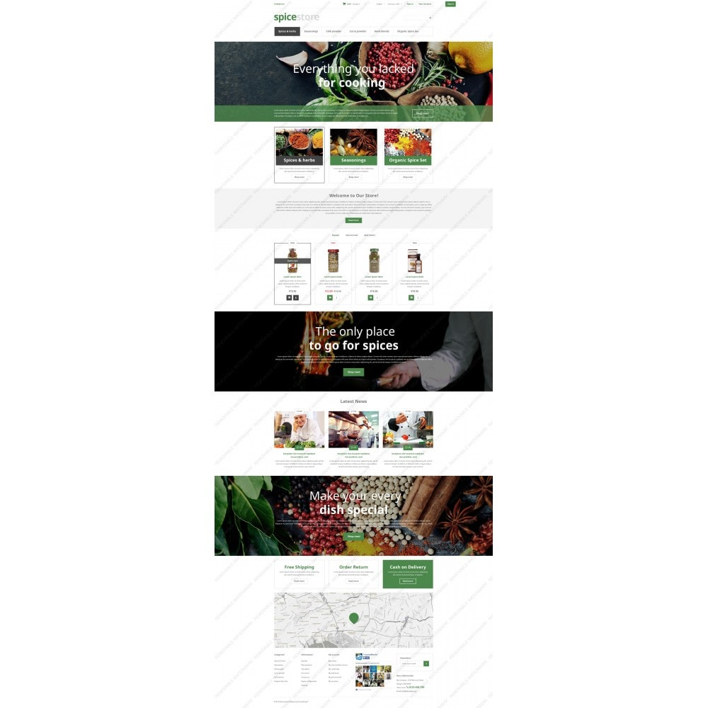 theme - Eten & Restaurant - Grocery Shop - 5