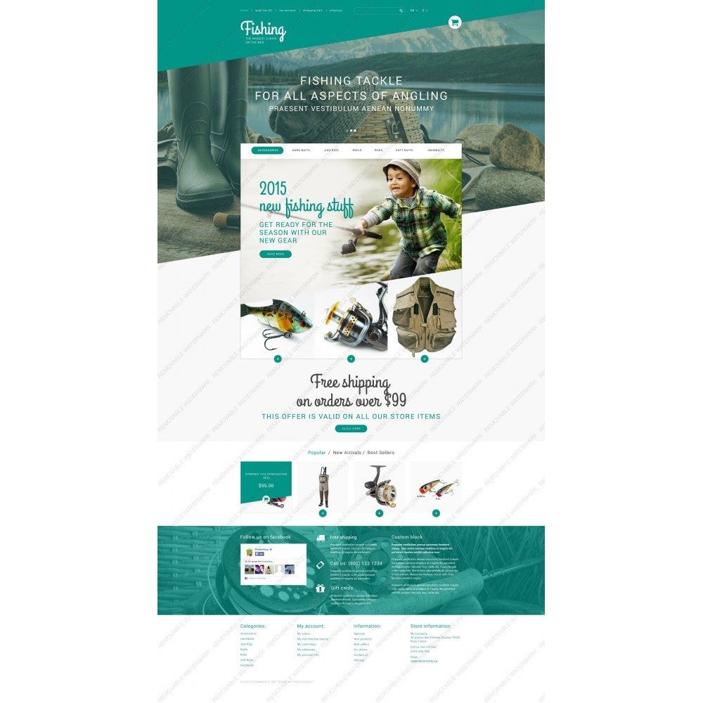 theme - Sports, Activities & Travel - Fishing Store - 5