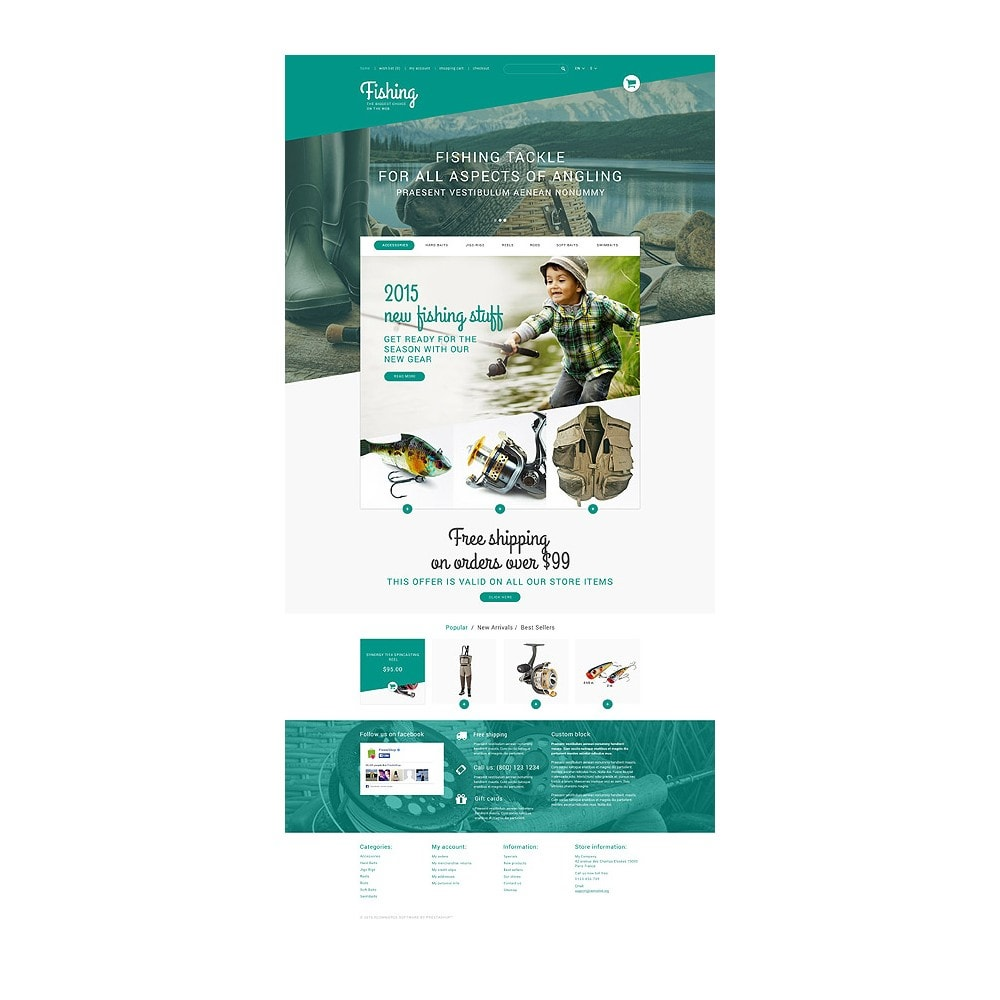 theme - Sports, Activities & Travel - Fishing Store - 10