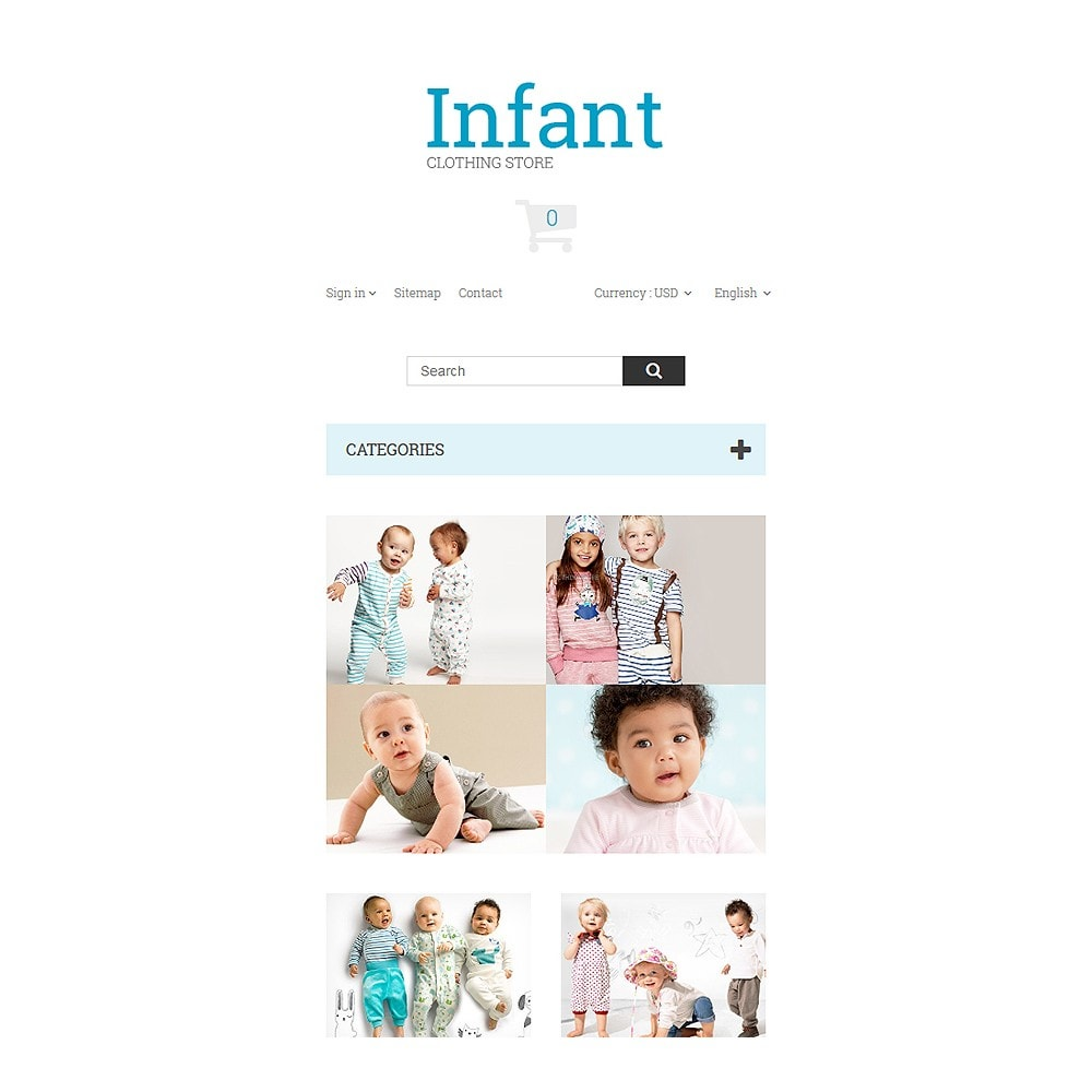 theme - Dom & Ogród - Infant Clothing Store - 8