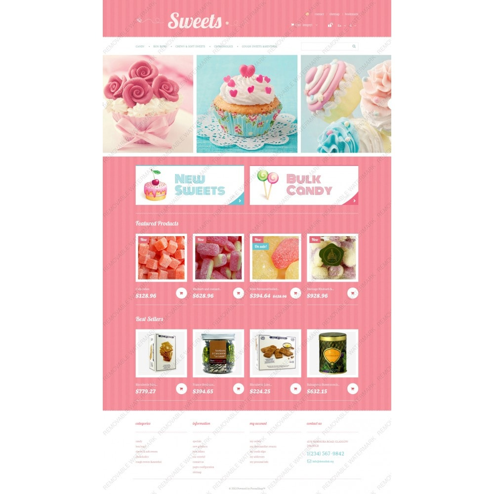 theme - Lebensmittel & Restaurants - Sweets Store - 5