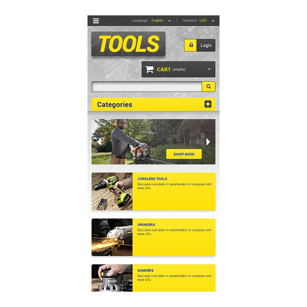 theme - Hogar y Jardín - Get Tools Online - 8