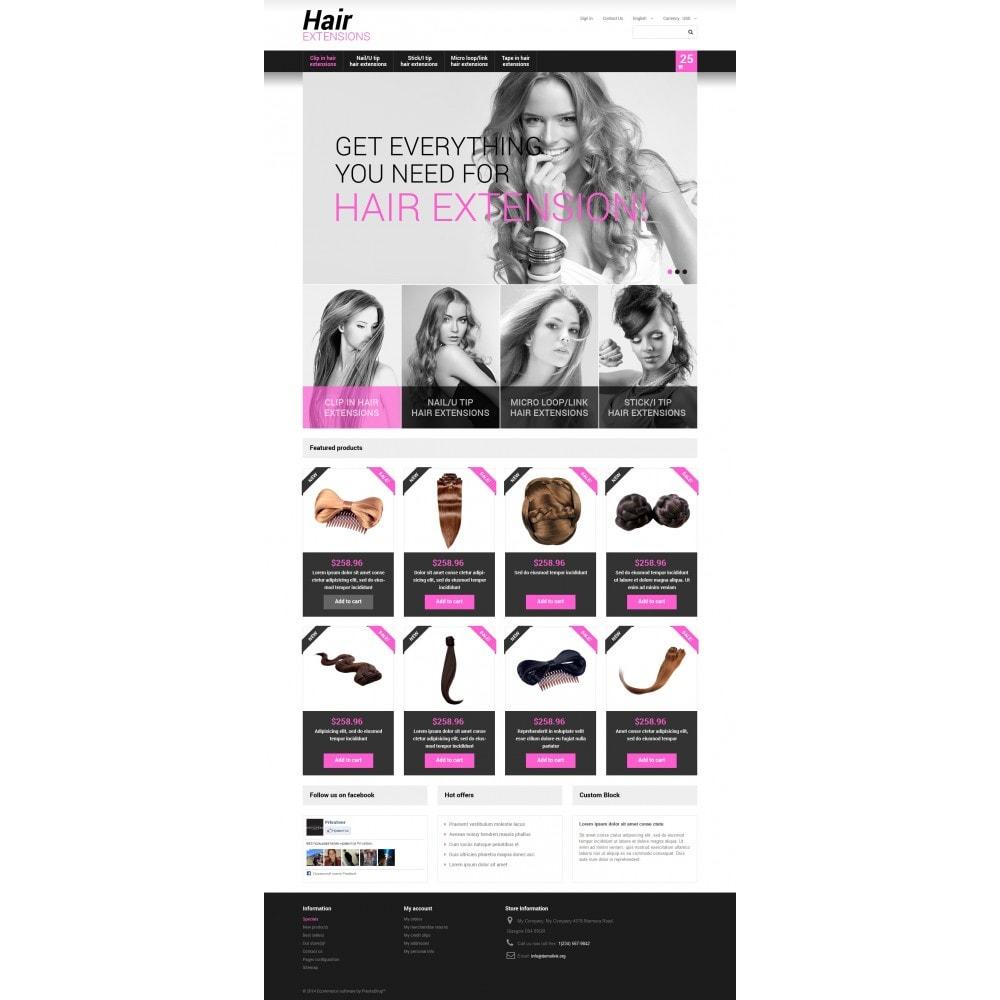 theme - Moda y Calzado - Long Hair - 4