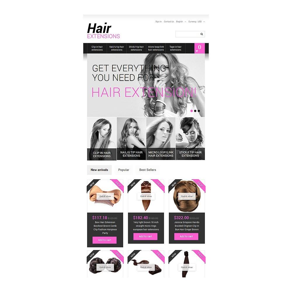 theme - Moda y Calzado - Long Hair - 7