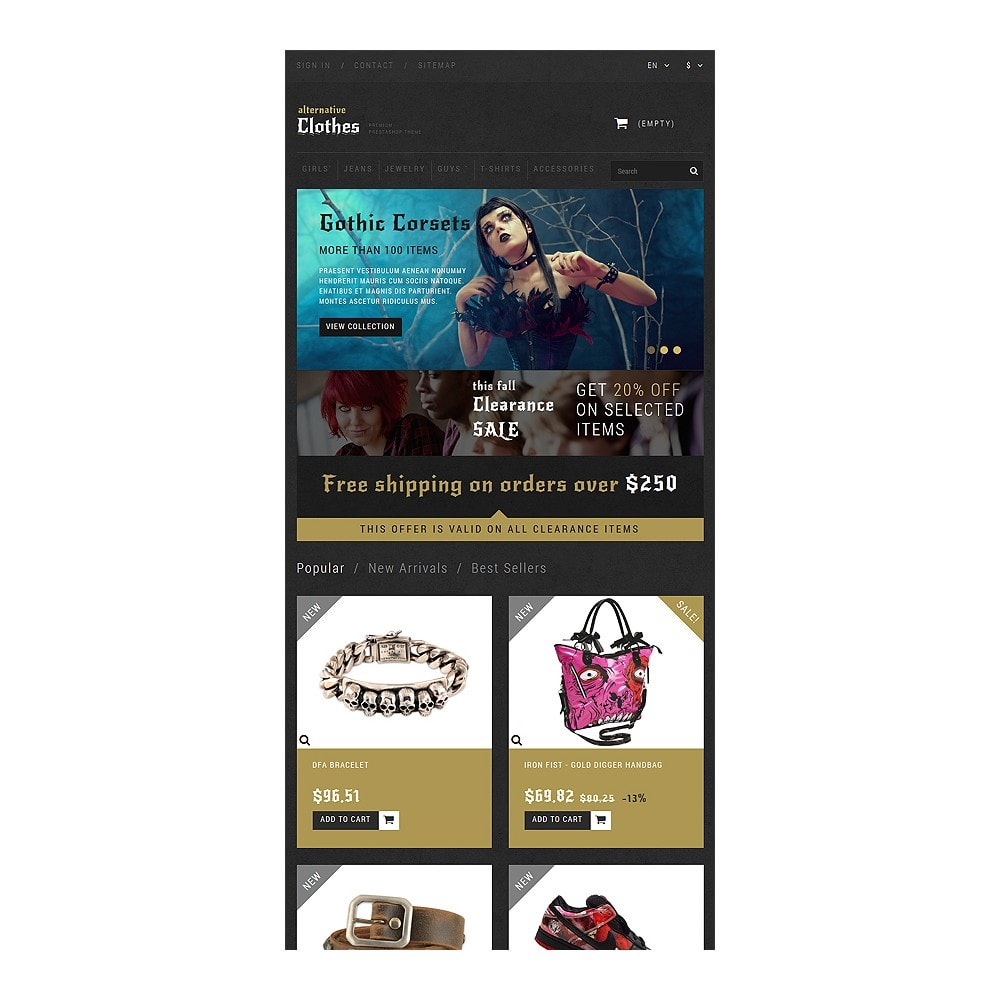 theme - Mode & Schuhe - Alternative Clothing Store - 7