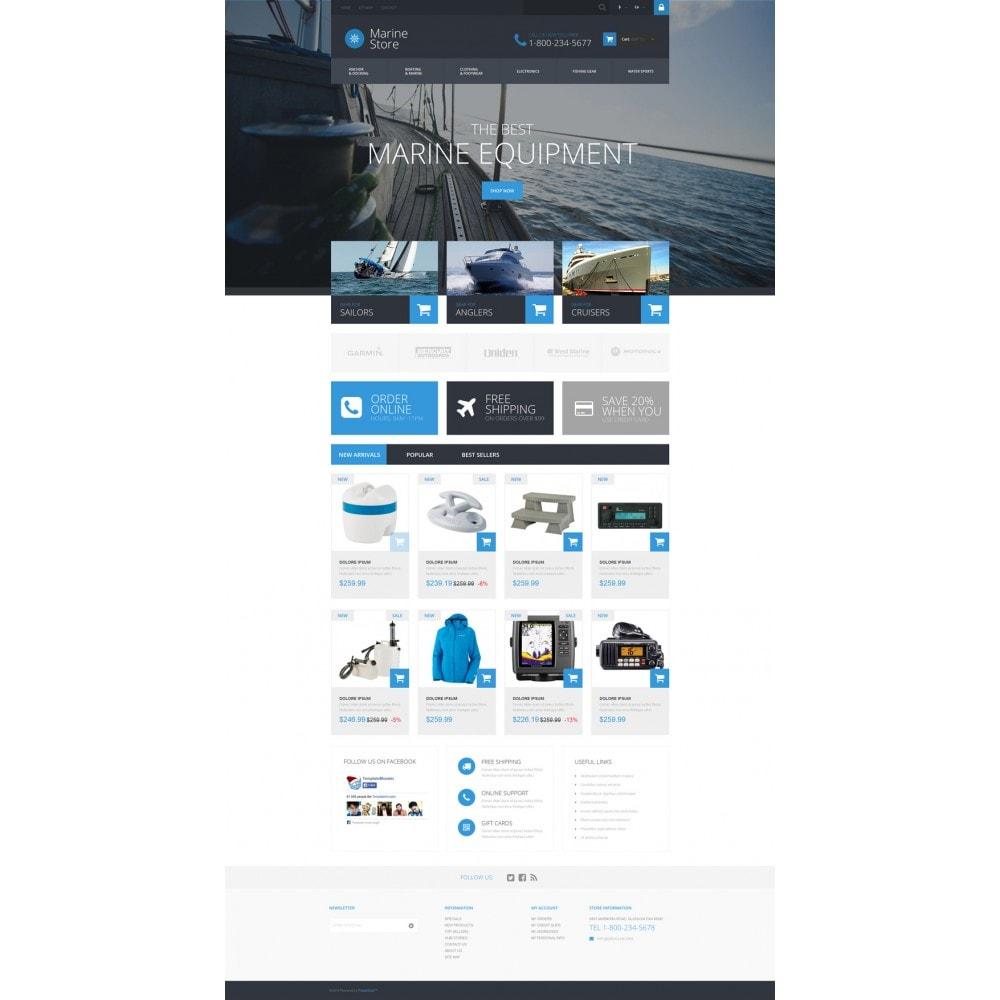 theme - Deportes, Actividades y Viajes - Marine Store - 2