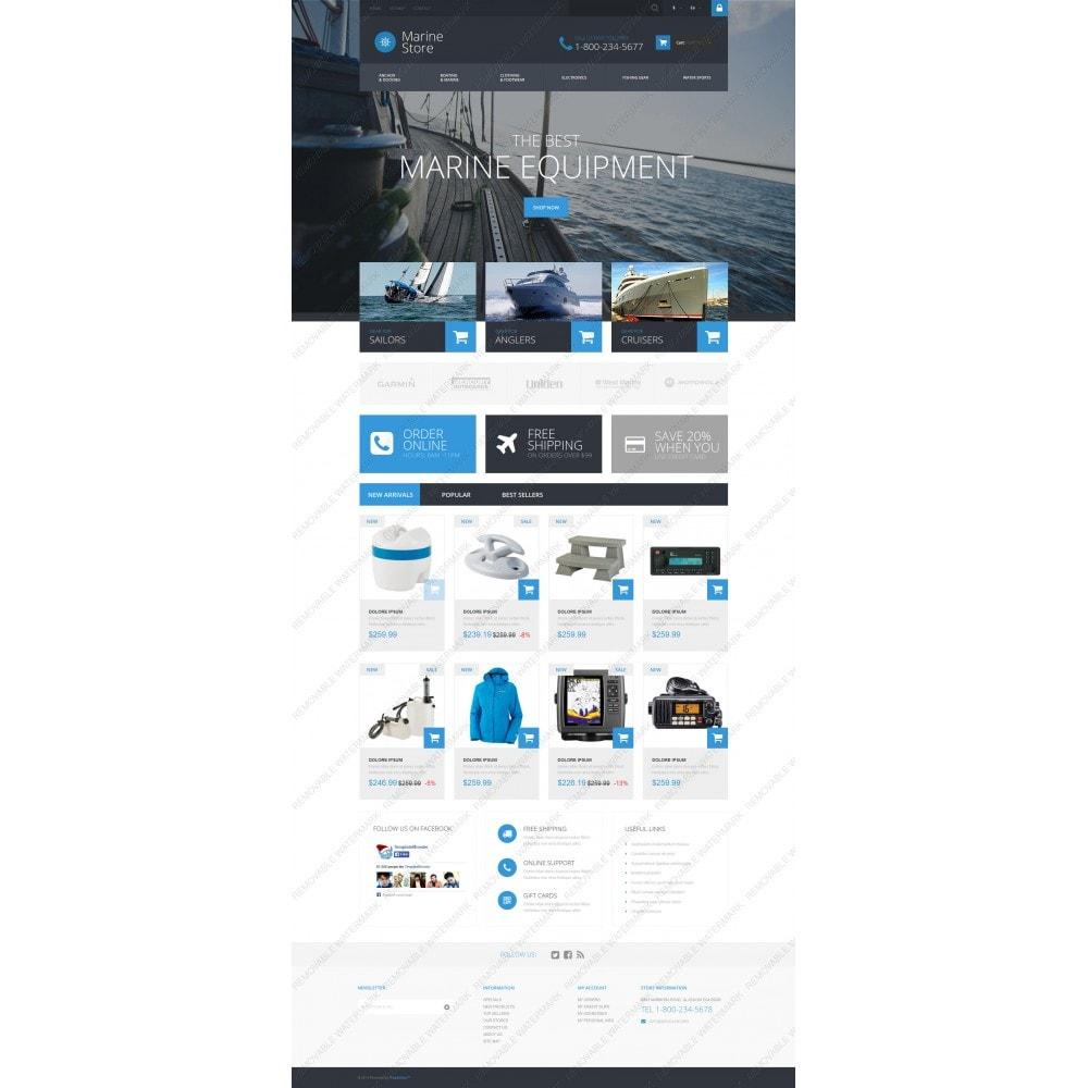 theme - Deportes, Actividades y Viajes - Marine Store - 3