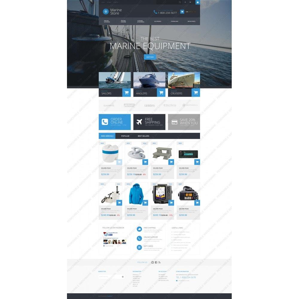 theme - Deportes, Actividades y Viajes - Marine Store - 5