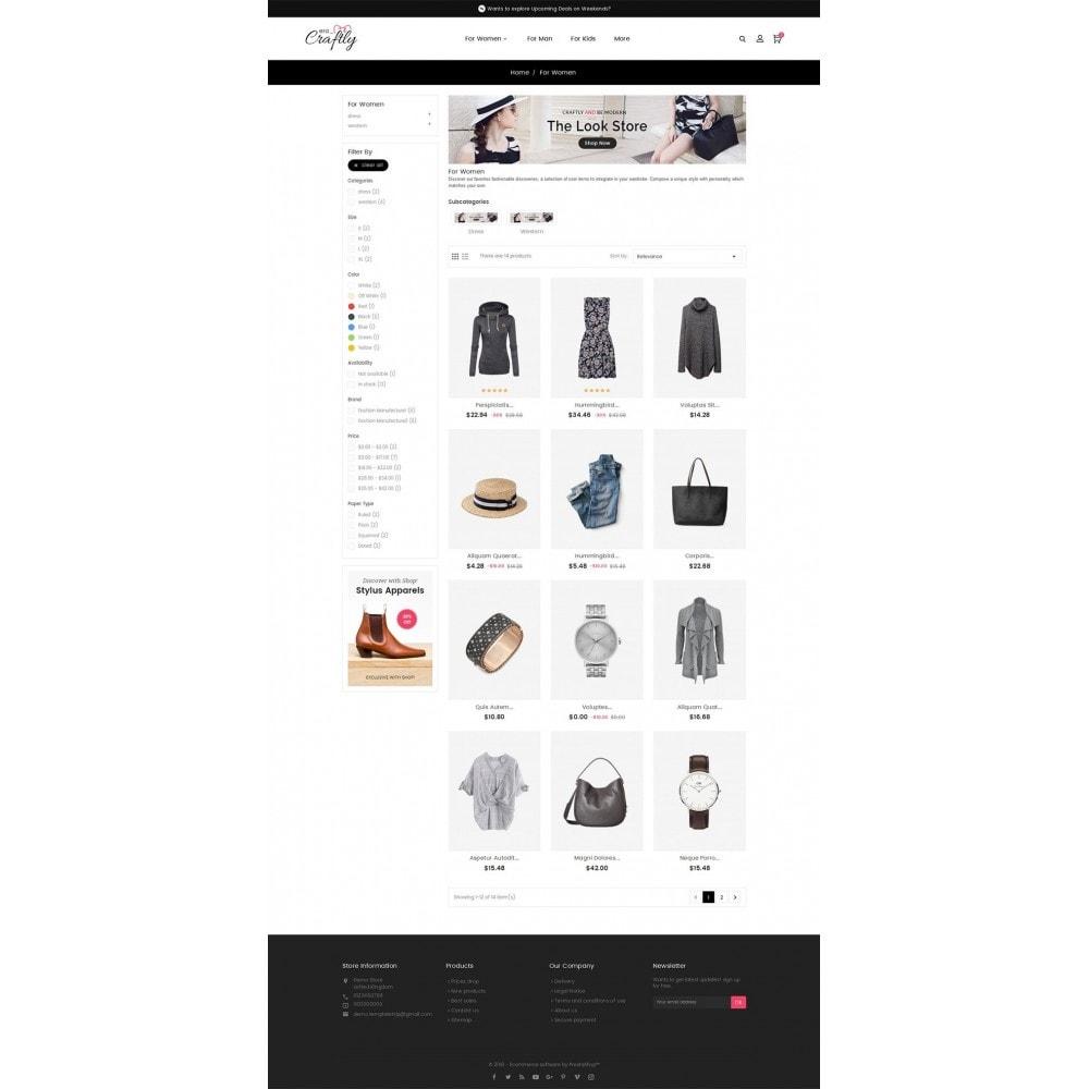 theme - Moda & Calzature - Craftly Fashion Apparels - 4