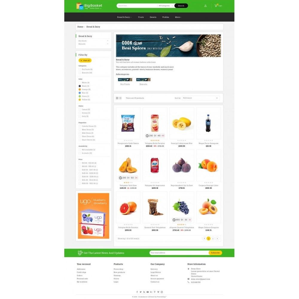 theme - Lebensmittel & Restaurants - Big Basket Mega Grocery - 4